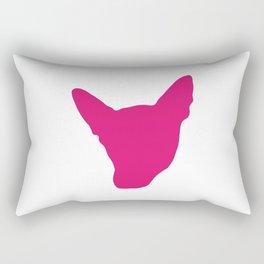 Kerri Logo - Pink Rectangular Pillow
