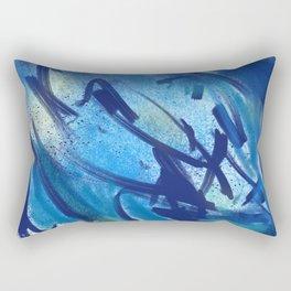 Tahoe Blues Rectangular Pillow