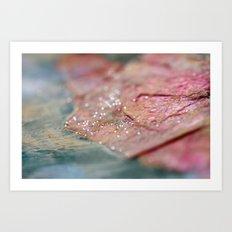 Pink Wonderland - JUSTART © Art Print