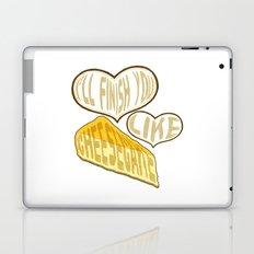 I'll finish you like cheesecake Laptop & iPad Skin