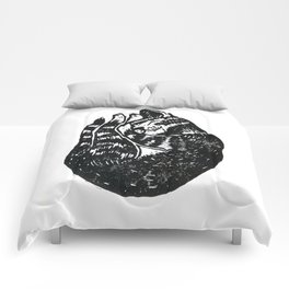 Sleeping Cat - Lino Comforters