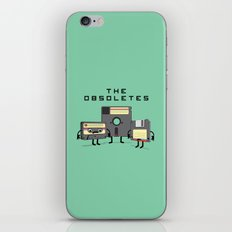 The Obsoletes (Retro Floppy Disk Cassette Tape)  iPhone & iPod Skin