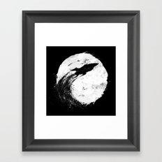 Midnight Delivery Framed Art Print
