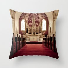 If I Fell On My Knees Throw Pillow