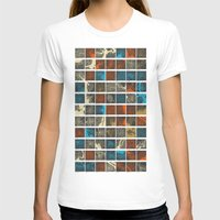world maps T-shirts featuring World Cities Maps by Map Map Maps