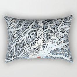 The Knight's Rest Rectangular Pillow