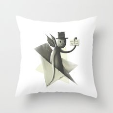 Will die to live Throw Pillow