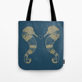 <3 of seahorses Tote Bag