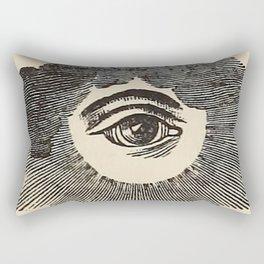 Vintage Magic Eye Rectangular Pillow