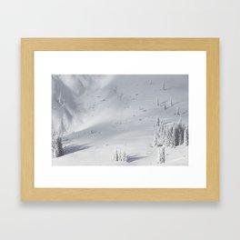 Planet Snow 1 Framed Art Print