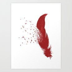 Birds of A Feather (Society6 Edition) Art Print