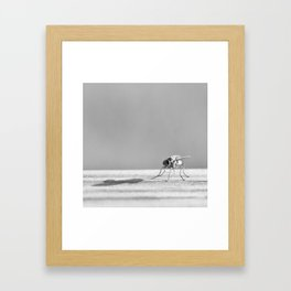 Me and My Shadow Framed Art Print