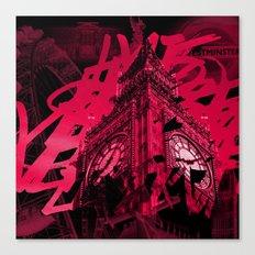 Londres à la nuit Canvas Print