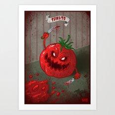 Tomato - Food series Art Print