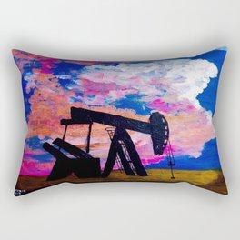 Abilene Pump Jack Rectangular Pillow