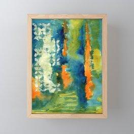 Aquamarine Dreams Framed Mini Art Print
