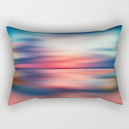 Abstract Sunset VI Rectangular Pillow