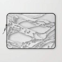 wild white areas Laptop Sleeve