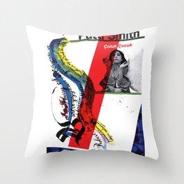Calligraphy 1 Throw Pillow