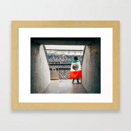 Mexican soccer Framed Art Print