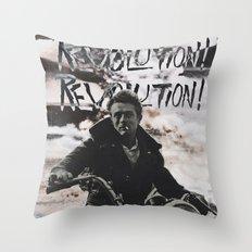 REVOLUTION! REVOLUTION! REVOLUTION! Throw Pillow