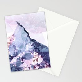 The Crystal Peak Stationery Cards