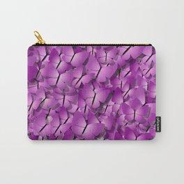 pink magenta butterflies Carry-All Pouch