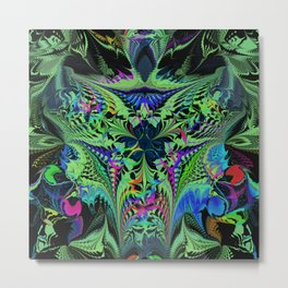 Jungle Mayhem Metal Print