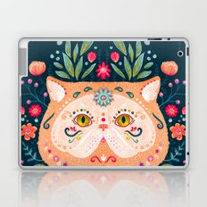 Candied Sugar Skull Kitty Laptop & iPad Skin