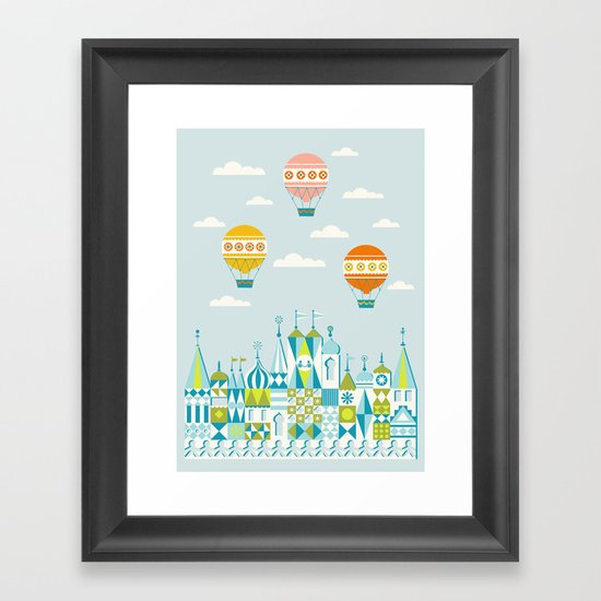 Small Magic Framed Art Print