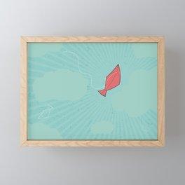 Turquoise Tranquility Framed Mini Art Print