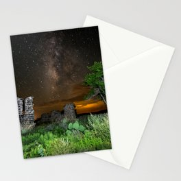 Milky Way over Texas Stationery Cards