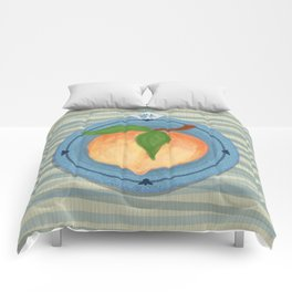 Lucky Chinese Peach Comforters