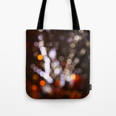 Tree Bokeh Tote Bag