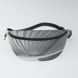 Tropical in Black and White Fanny Pack