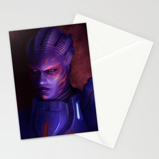 Mass Effect: Captain Wasea Stationery Cards