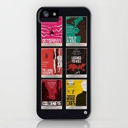 Bond #3 iPhone Case