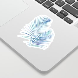Feathery Palm Leaves Sticker
