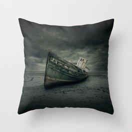 Wreck Throw Pillow