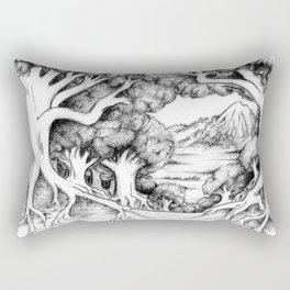Ancient Forest Rectangular Pillow
