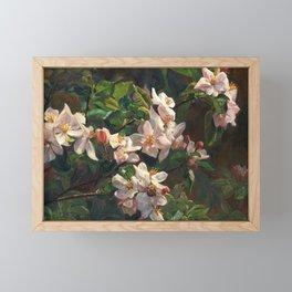 Blossom Of My Heart Framed Mini Art Print