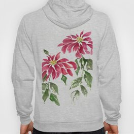 Poinsettias  Hoody