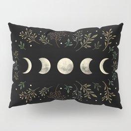 Moonlight Garden - Olive Green Pillow Sham