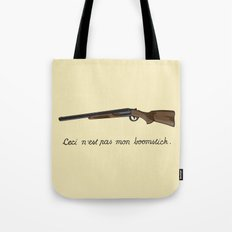This is not my Boomstick Tote Bag