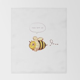 Busy Bee Throw Blanket