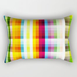 Multicolored Native Nekomata Rectangular Pillow