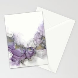 Study in Purple Stationery Cards