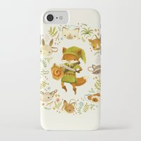 zelda iPhone & iPod Cases featuring The Legend of Zelda: Mammal's Mask by Teagan White