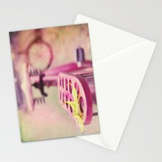 I Rode My Bicycle Past Your Window Last Night Stationery Cards