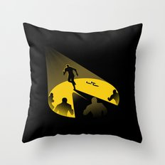 Endless Chase Throw Pillow